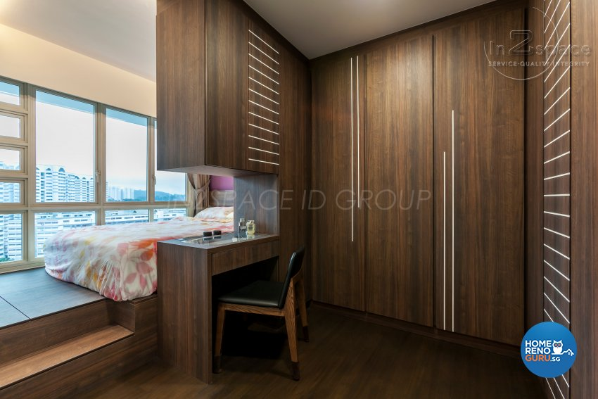 Contemporary, Modern Design - Bedroom - HDB 5 Room - Design by In2Space Interior Pte Ltd