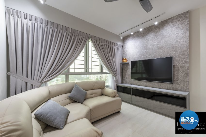 Contemporary, Modern, Scandinavian Design - Living Room - HDB 5 Room - Design by In2Space Interior Pte Ltd
