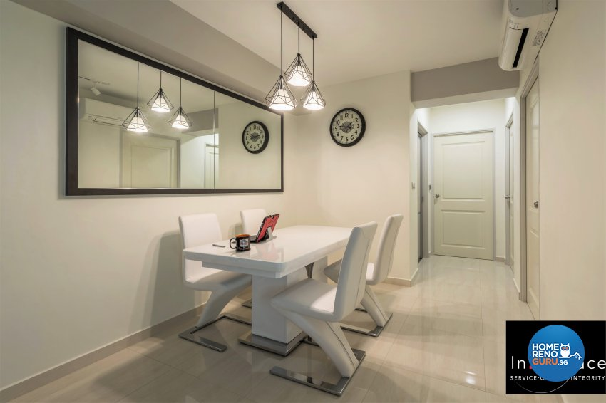 Contemporary, Modern, Scandinavian Design - Dining Room - HDB 5 Room - Design by In2Space Interior Pte Ltd