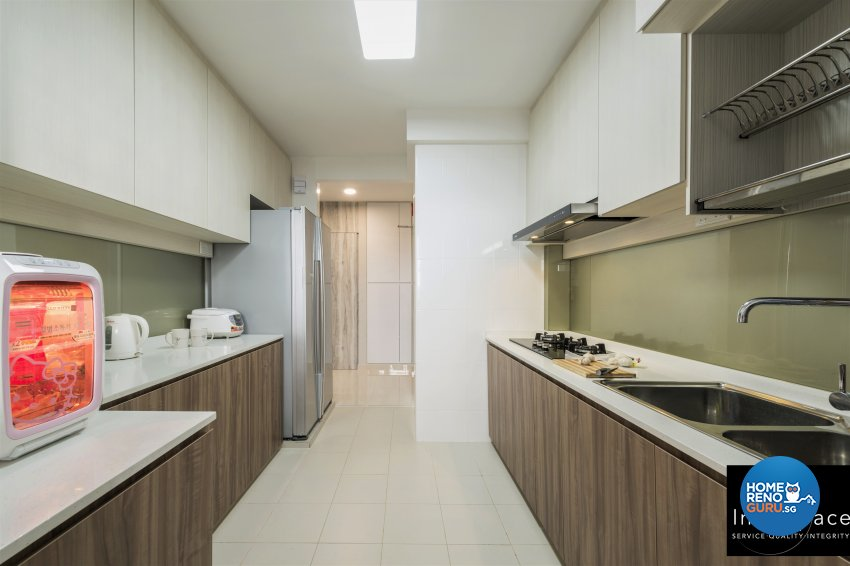 Contemporary, Modern, Scandinavian Design - Kitchen - HDB 5 Room - Design by In2Space Interior Pte Ltd