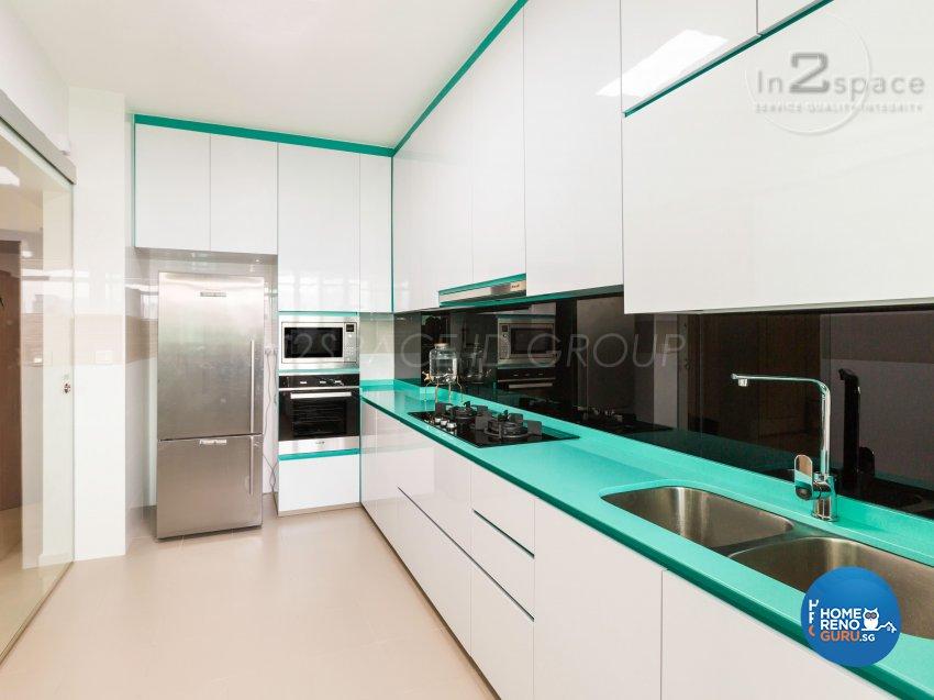 Contemporary, Modern, Scandinavian Design - Kitchen - HDB 4 Room - Design by In2Space Interior Pte Ltd