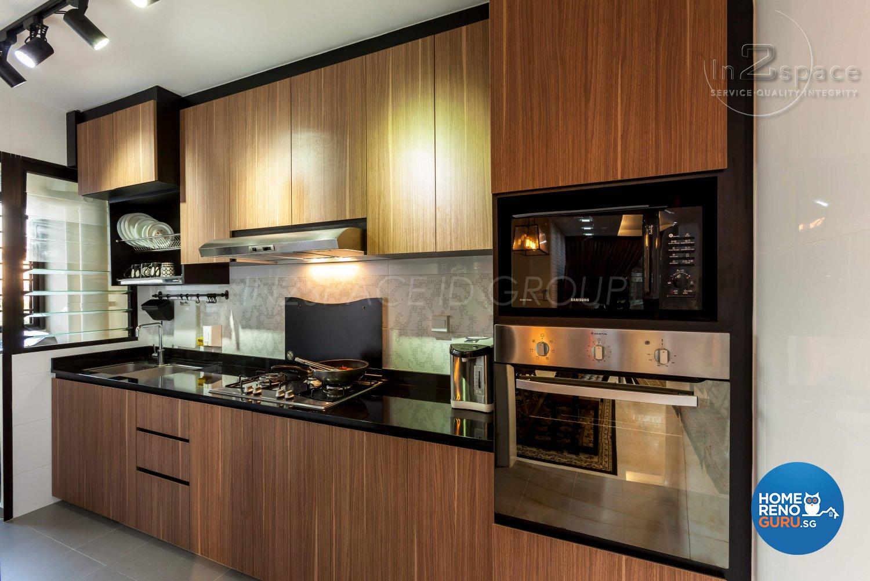 In2space Interior Pte Ltd Kitchen Cabinets Album 2489 Singapore