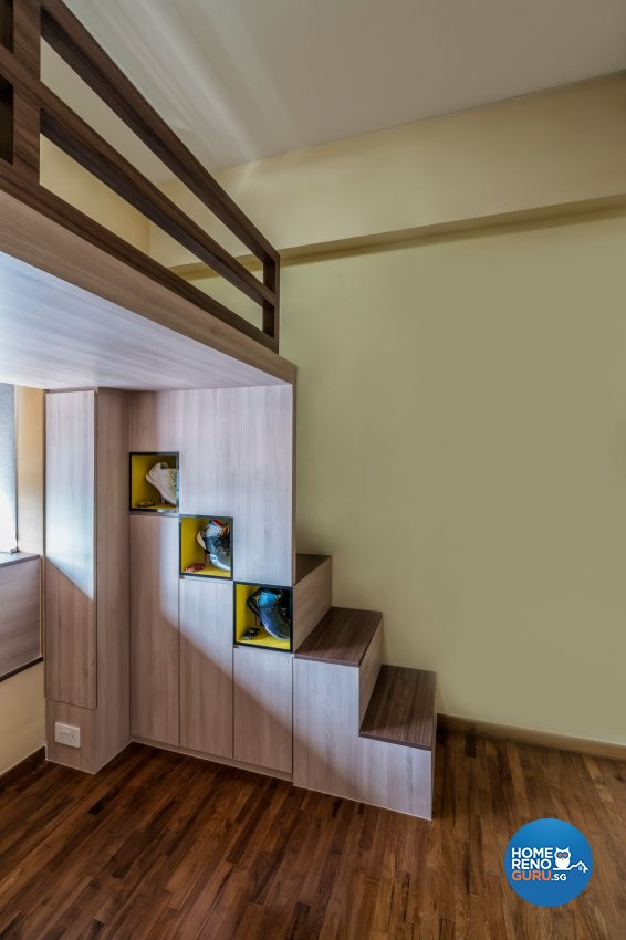 Contemporary, Eclectic, Modern Design - Bedroom - Condominium - Design by In2Space Interior Pte Ltd