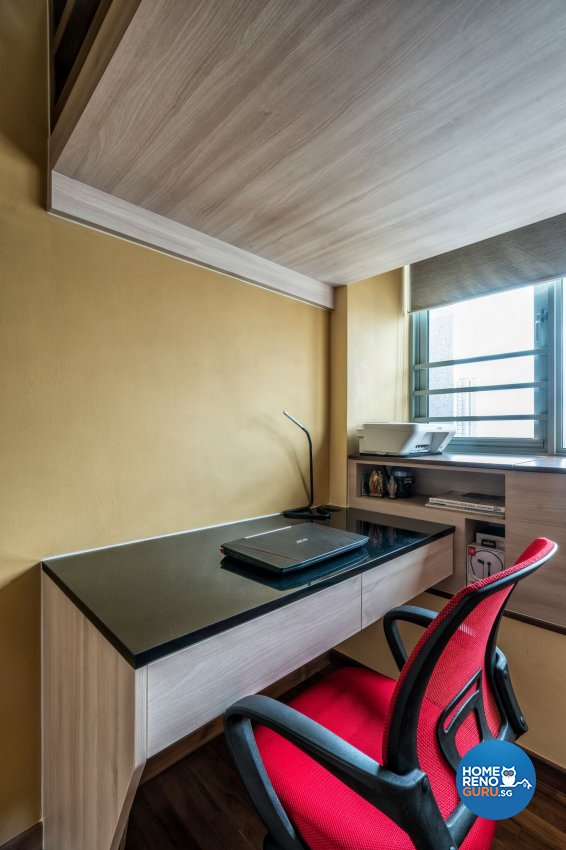 Contemporary, Eclectic, Modern Design - Study Room - Condominium - Design by In2Space Interior Pte Ltd