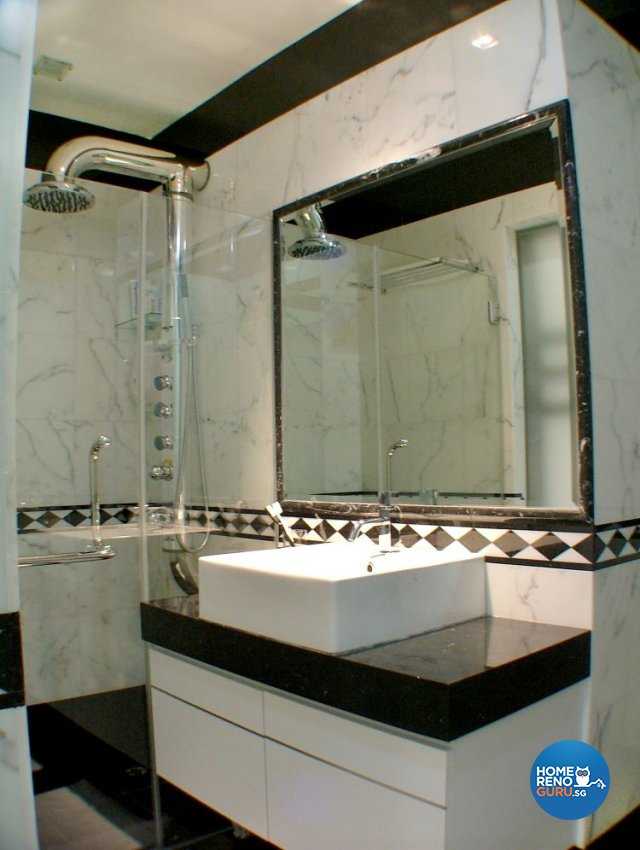 Contemporary, Modern Design - Bathroom - Condominium - Design by Inner View Design & Contracts Pte Ltd