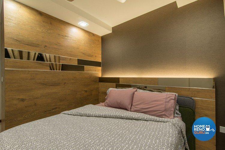 Minimalist, Modern Design - Bedroom - HDB 5 Room - Design by Innerglow Design Pte Ltd
