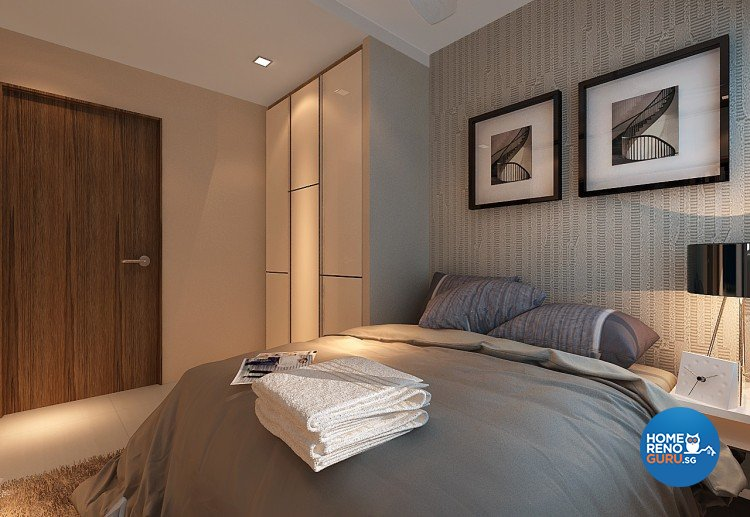 Contemporary, Modern Design - Bedroom - HDB 3 Room - Design by Innerspace Design Solutions