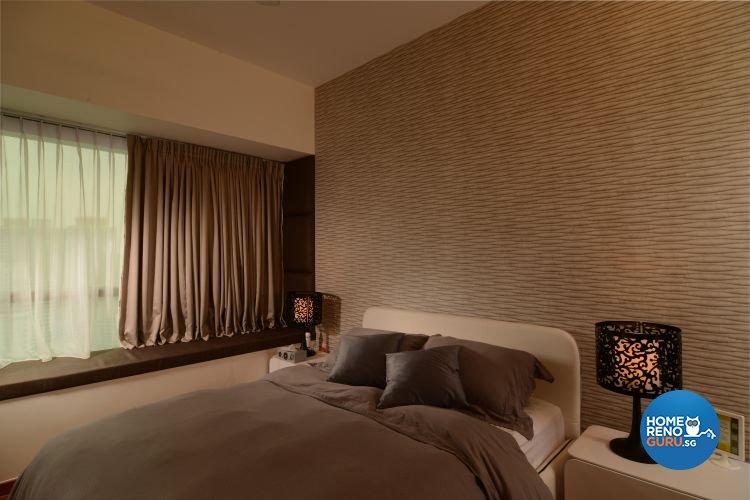 Contemporary, Scandinavian, Tropical Design - Bedroom - Condominium - Design by Inside Living Pte Ltd