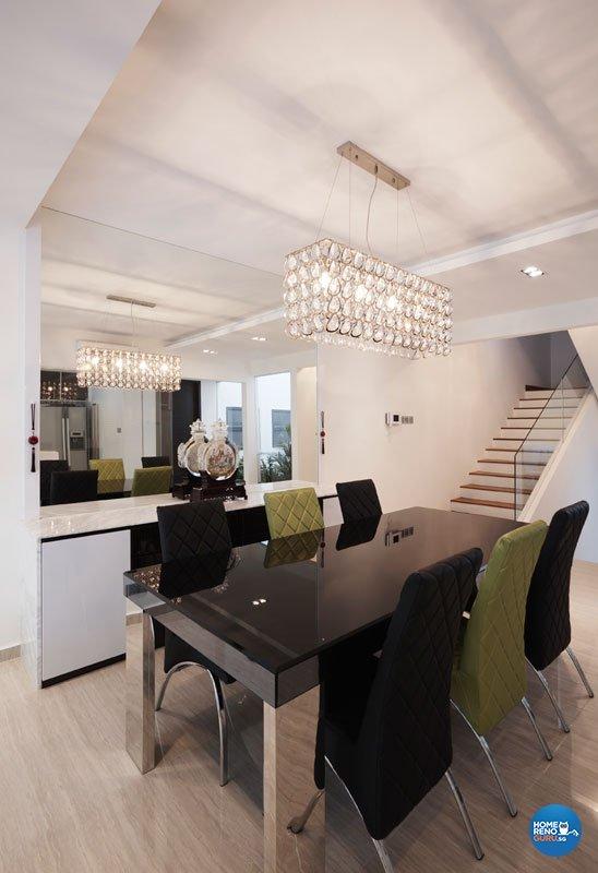 Classical, Contemporary, Modern Design - Living Room - Condominium - Design by Inspiration Living