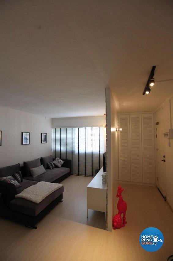 3 room bto renovation package hdb renovation for Living room playroom inspiration