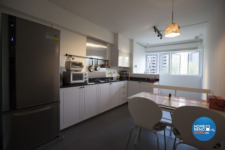 Classical, Industrial, Modern Design - Kitchen - HDB 4 Room - Design by Inspiration Living