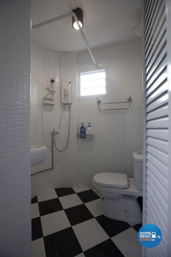 Classical, Industrial, Modern Design - Bathroom - HDB 4 Room - Design by Inspiration Living