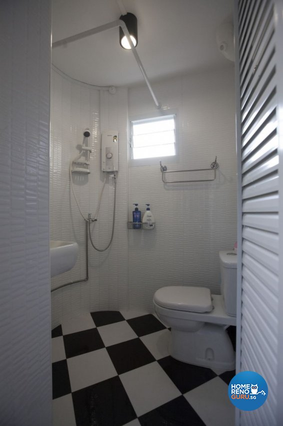 Classical, Industrial, Modern Design - Bathroom - HDB 4 Room - Design by Inspiration Living