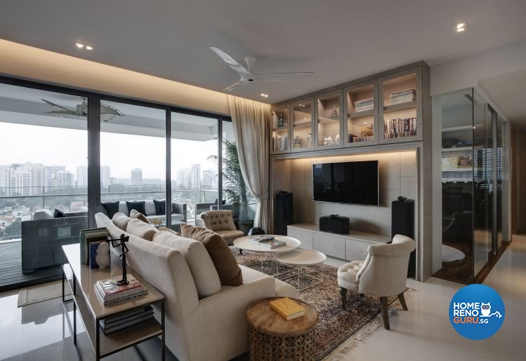 Contemporary, Minimalist, Modern Design - Living Room - Condominium - Design by Inspiration Living