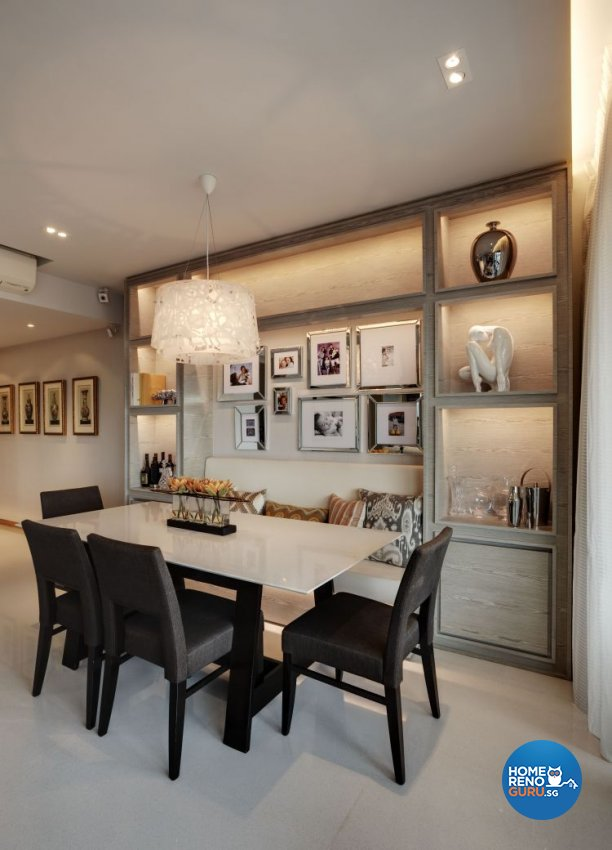 Contemporary, Minimalist, Modern Design - Dining Room - Condominium - Design by Inspiration Living