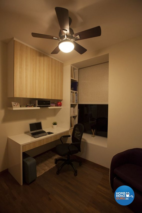 Contemporary, Modern Design - Study Room - Condominium - Design by Inspiration Living