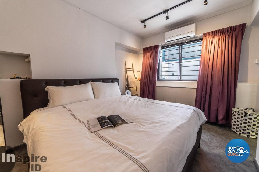 Industrial, Others, Scandinavian Design - Bedroom - HDB 4 Room - Design by Inspire ID Group Pte Ltd