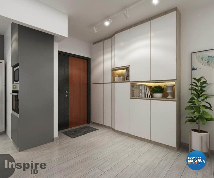 Minimalist, Scandinavian Design - Living Room - HDB 4 Room - Design by Inspire ID Group Pte Ltd