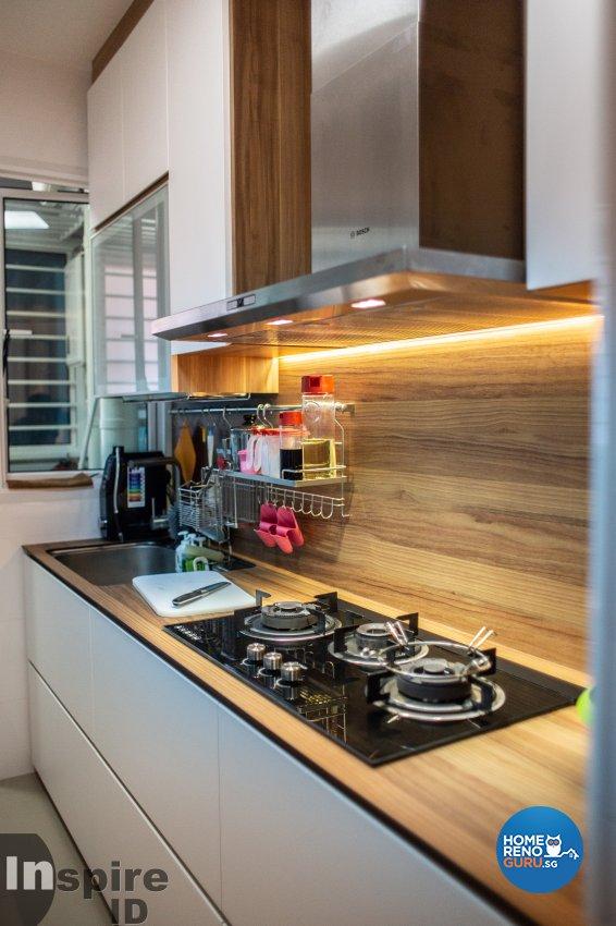 Modern, Scandinavian Design - Kitchen - HDB 5 Room - Design by Inspire ID Group Pte Ltd