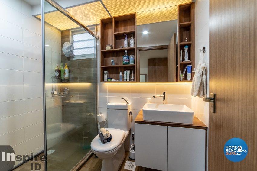 Modern, Scandinavian Design - Bathroom - HDB 5 Room - Design by Inspire ID Group Pte Ltd