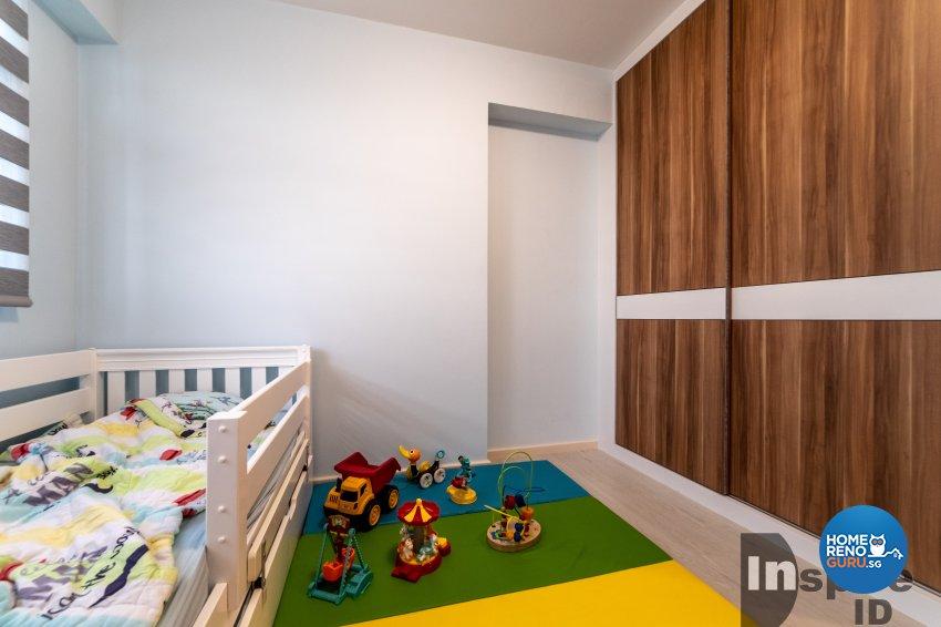 Modern, Scandinavian Design - Bedroom - HDB 5 Room - Design by Inspire ID Group Pte Ltd