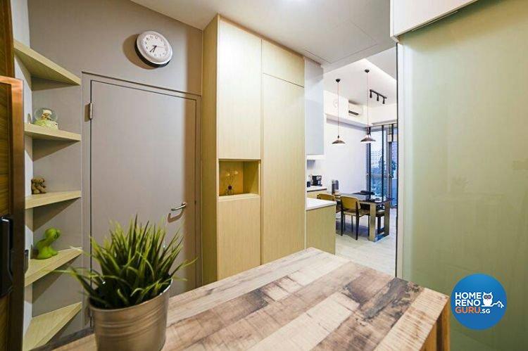 Modern, Scandinavian Design - Entertainment Room - Condominium - Design by Inspire ID Group Pte Ltd