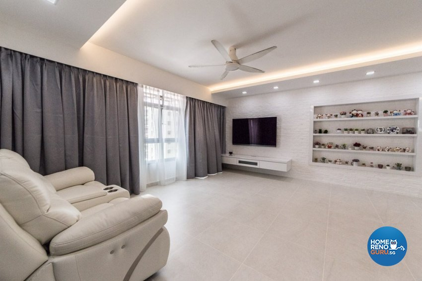 Contemporary, Minimalist, Others Design - Living Room - HDB 5 Room - Design by Inspire ID Group Pte Ltd