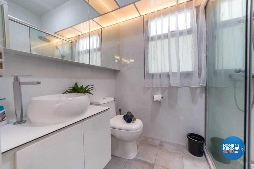 Contemporary, Minimalist, Others Design - Bathroom - HDB 5 Room - Design by Inspire ID Group Pte Ltd