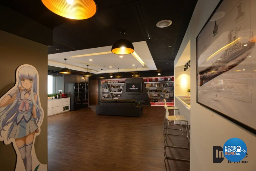 Industrial, Modern Design - Commercial - Office - Design by Inspire ID Group Pte Ltd