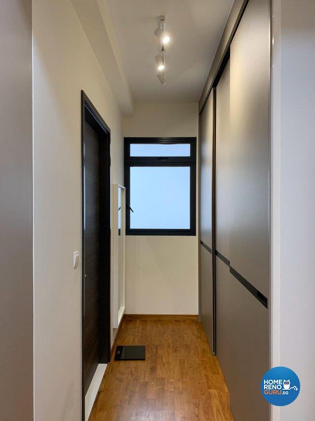 Contemporary, Scandinavian Design - Bedroom - Condominium - Design by Inspire ID Group Pte Ltd