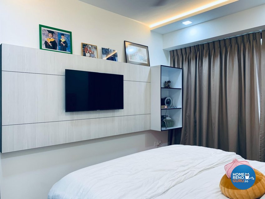 Contemporary, Scandinavian Design - Bedroom - Condominium - Design by Inspire ID Group Pte Ltd
