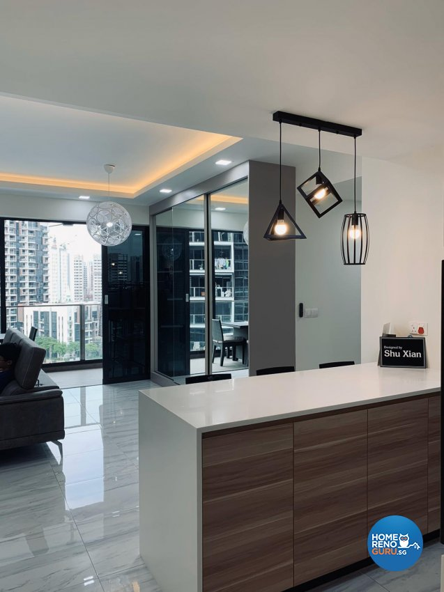 Contemporary, Scandinavian Design - Dining Room - Condominium - Design by Inspire ID Group Pte Ltd