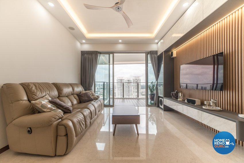 Others, Tropical Design - Living Room - Condominium - Design by Inspire ID Group Pte Ltd