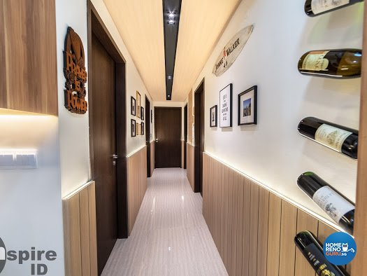 Modern, Scandinavian Design - Living Room - Condominium - Design by Inspire ID Group Pte Ltd