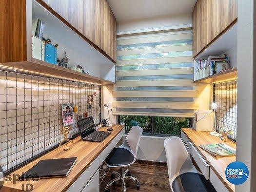 Modern, Scandinavian Design - Study Room - Condominium - Design by Inspire ID Group Pte Ltd