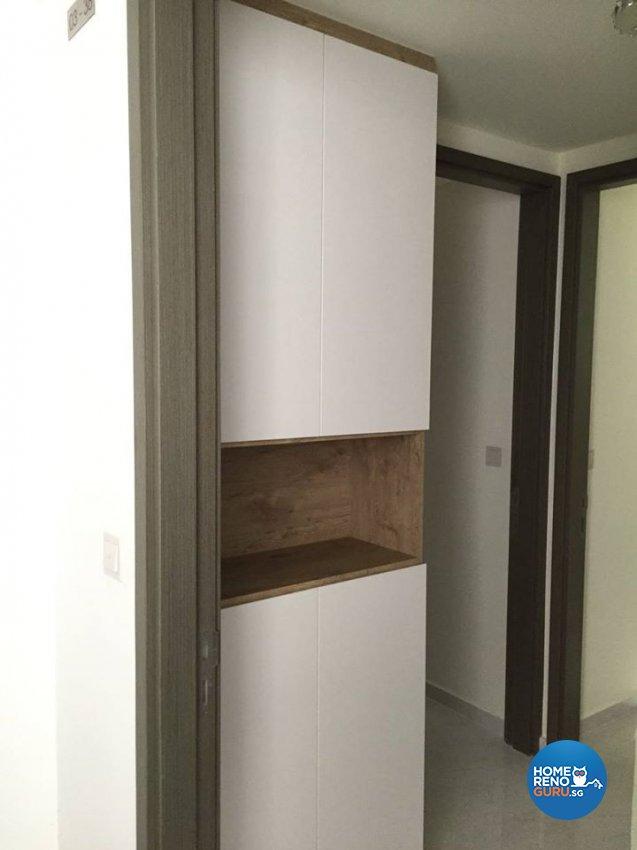 Minimalist, Modern Design - Living Room - Condominium - Design by Inspire ID Group Pte Ltd