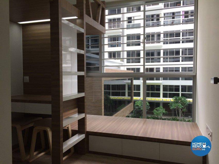 Minimalist, Modern Design - Bedroom - Condominium - Design by Inspire ID Group Pte Ltd