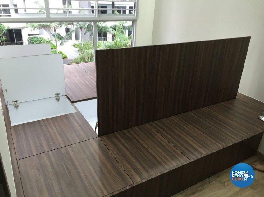 Minimalist, Modern Design - Entertainment Room - Condominium - Design by Inspire ID Group Pte Ltd