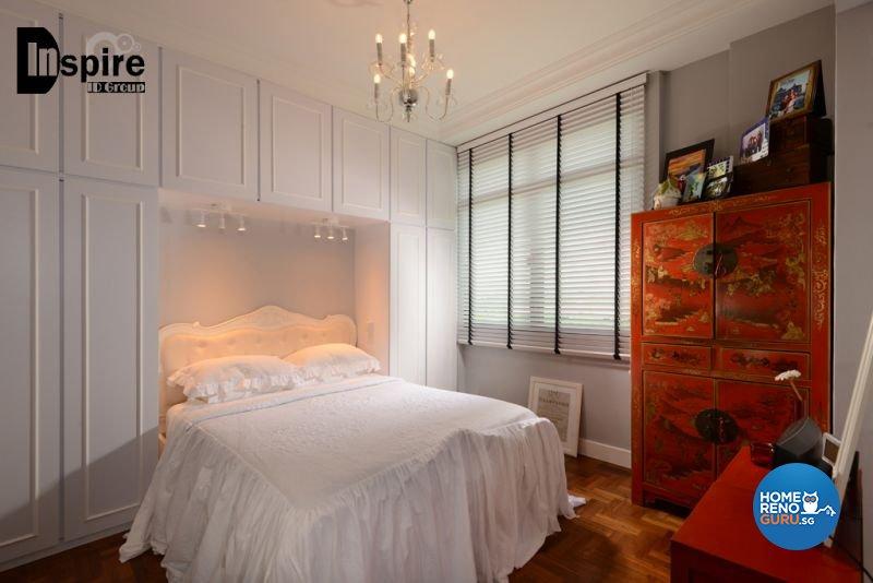 Classical, Victorian Design - Bedroom - Condominium - Design by Inspire ID Group Pte Ltd