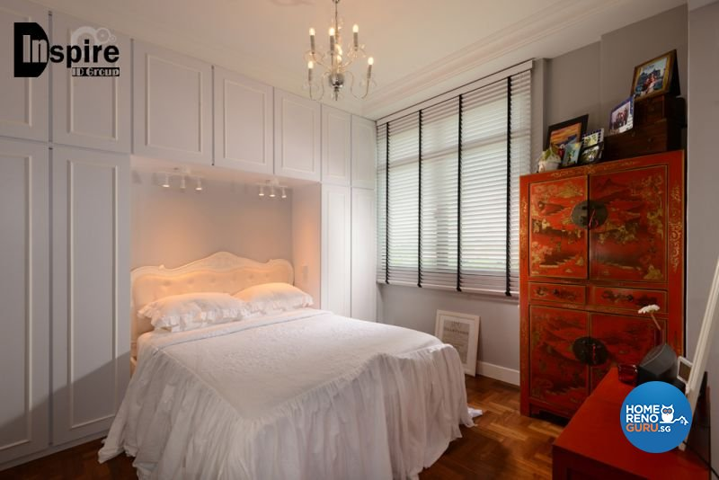 Classical, Victorian Design - Bedroom - Condominium - Design by Inspire ID Group Pte Ltd