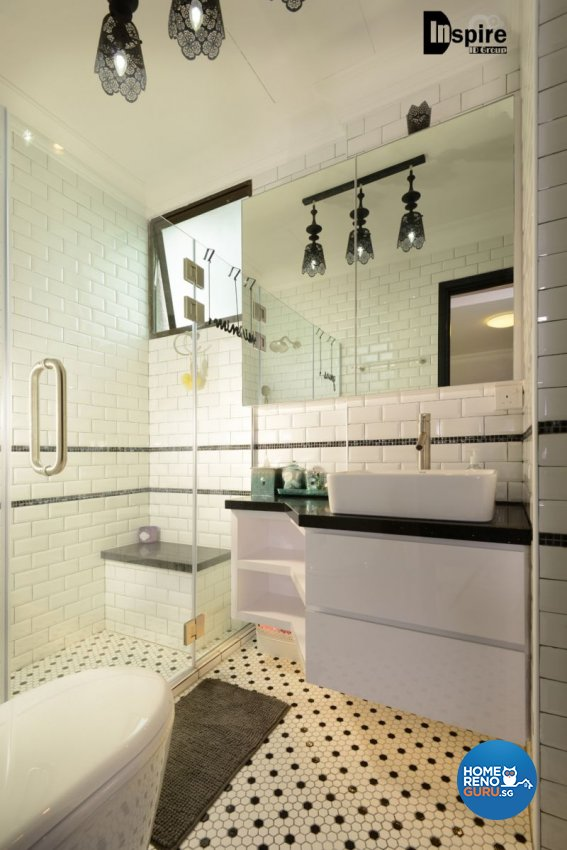 Classical, Victorian Design - Bathroom - Condominium - Design by Inspire ID Group Pte Ltd