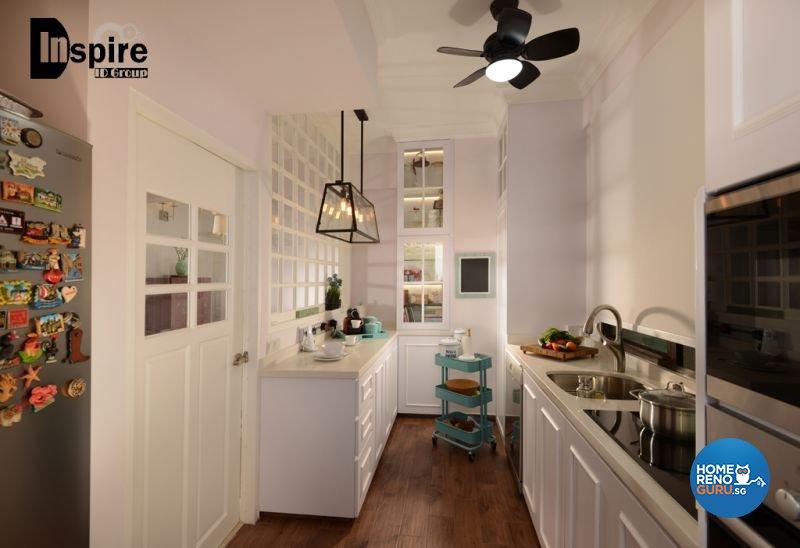 Classical, Victorian Design - Kitchen - Condominium - Design by Inspire ID Group Pte Ltd