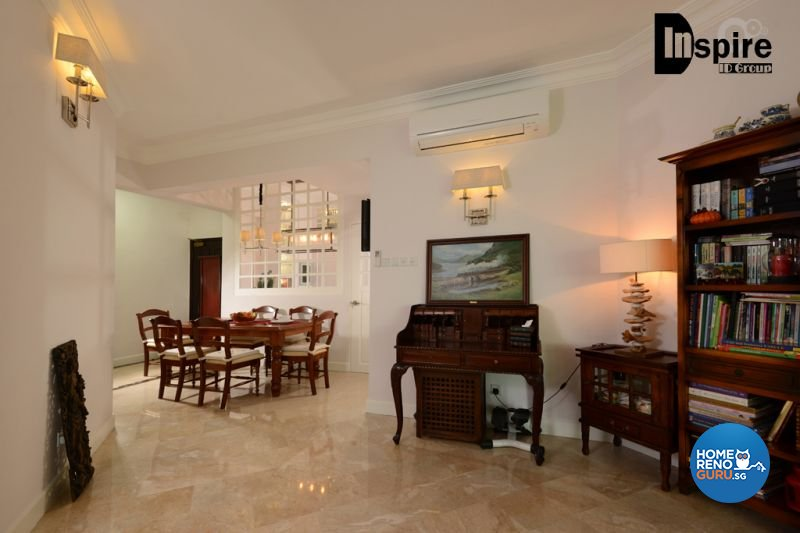 Classical, Victorian Design - Dining Room - Condominium - Design by Inspire ID Group Pte Ltd