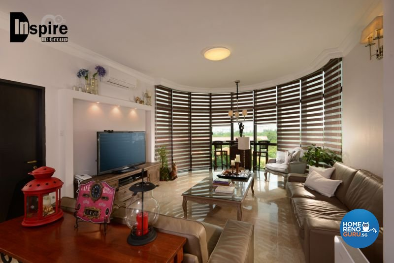 Classical, Victorian Design - Living Room - Condominium - Design by Inspire ID Group Pte Ltd
