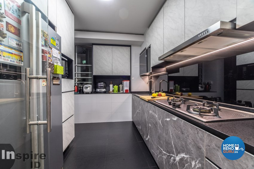 Modern, Scandinavian Design - Kitchen - HDB 5 Room - Design by Inspire ID Group Pte Ltd