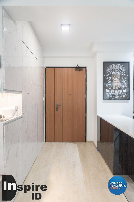 Industrial, Modern, Scandinavian Design - Kitchen - HDB 4 Room - Design by Inspire ID Group Pte Ltd