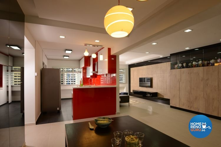 Contemporary, Modern Design - Dining Room - HDB 5 Room - Design by Inspire ID Group Pte Ltd
