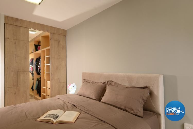 Contemporary, Modern Design - Bedroom - HDB 5 Room - Design by Inspire ID Group Pte Ltd