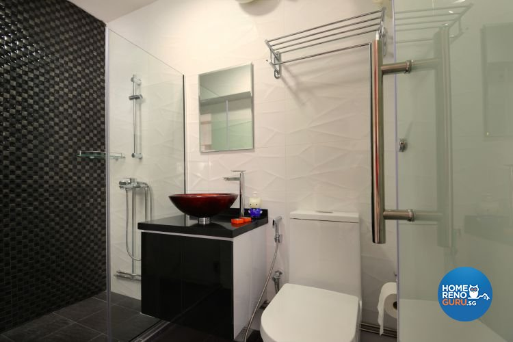 Contemporary, Modern Design - Bathroom - HDB 5 Room - Design by Inspire ID Group Pte Ltd