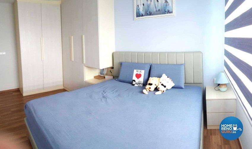Minimalist, Scandinavian Design - Bedroom - HDB 4 Room - Design by Inspire ID Group Pte Ltd
